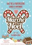 Marché de Noël, Golf de la Vaucouleurs, Civry-la-Forêt