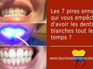 Avoir dents blanches