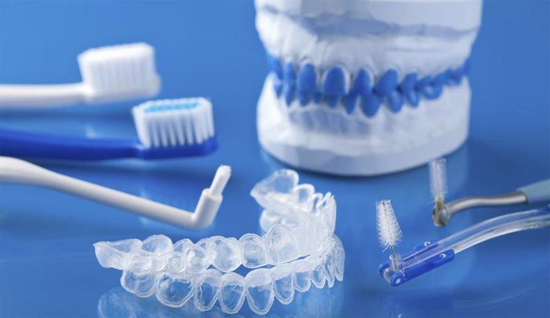 Gouttières pour blanchiment dentaire