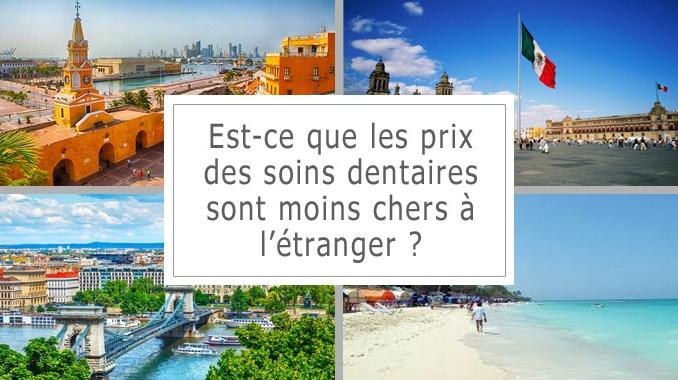 Prix des soins dentaires à l'étranger