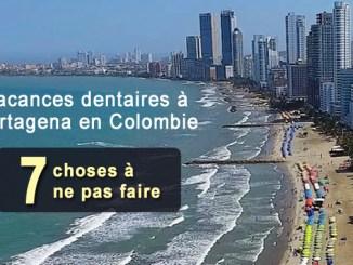 Vacances dentaires à Cartagena en Colombie