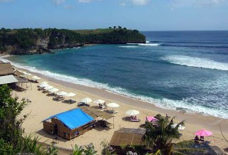 balangan beach, bali by indonesian tourism