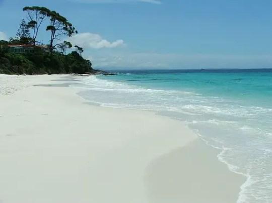 white beach hyams