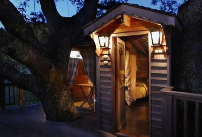 la piantata tree house, Italy 2