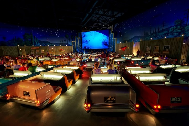 Sci-Fi Dine-In Theater, Disney, US 2