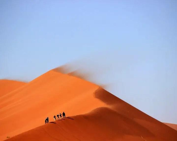 hiking in the desert (1)