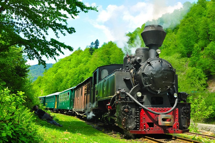 old train in Maramures 2