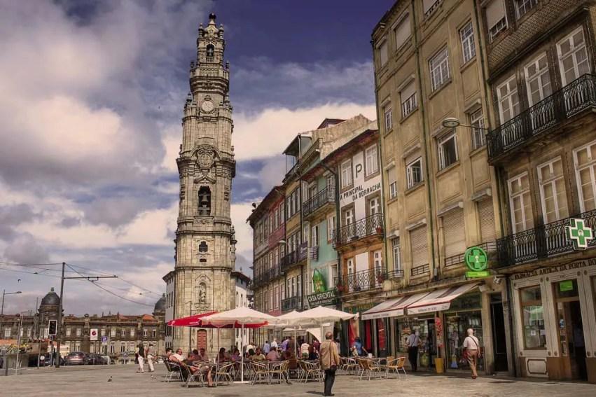 Torre dos Clerigos Porto Clerics Tower