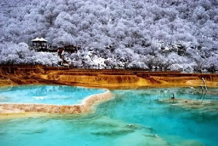 Huanglong Valley, China (1)