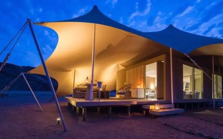 hoanib camp safari