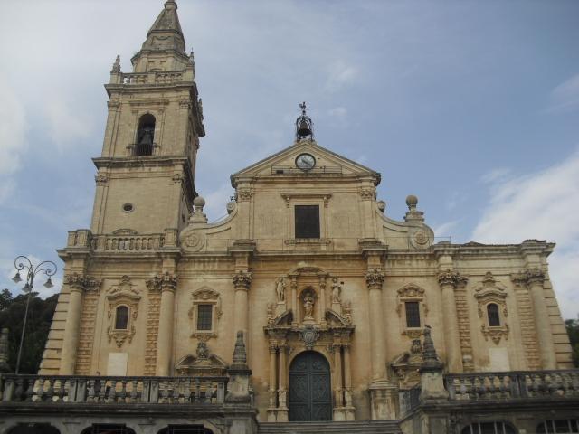 Facciata della cattedrale di San Giovanni a Ragusa