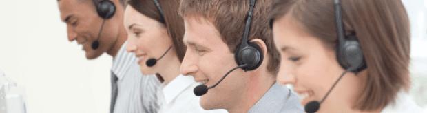 call centre faces