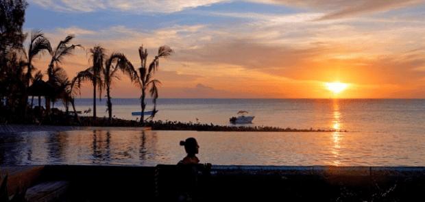 Sunset at Thanda Island Tanzania