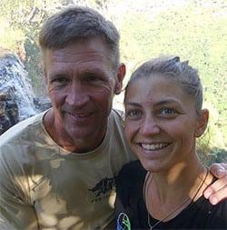 Greg Vogt and Sara Agostini
