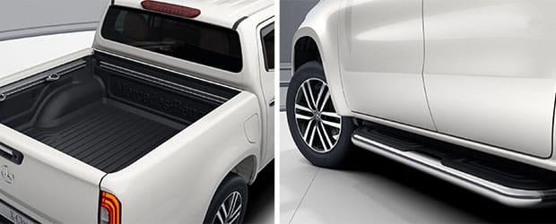 Mercedes-Benz X-Class Bin Liner and Side Rail
