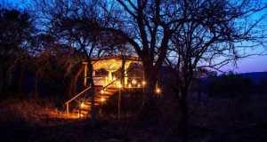 Tintswalo at Lapalala Sleep-out deck