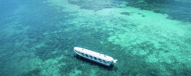 Ayana Komodo glass bottom boat