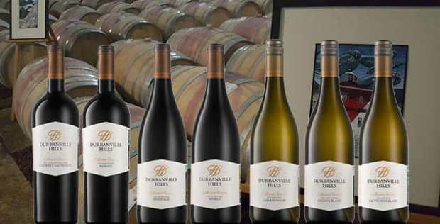 Durbanville Hills Collectors Reserve wine bottles