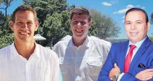 General Managers at Minor Hotels - Coetzer Deysel, Laurie Burr and Lotfi Mosbahi