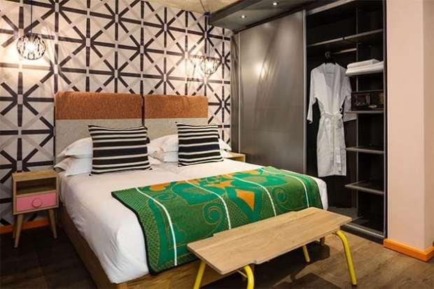 Newmark Hotels Stock Exchange bedroom