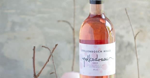 Stellenbosch Hills Polkadraai rose wine
