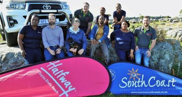Organising members of the KZN South Coast Multi-Trail Park