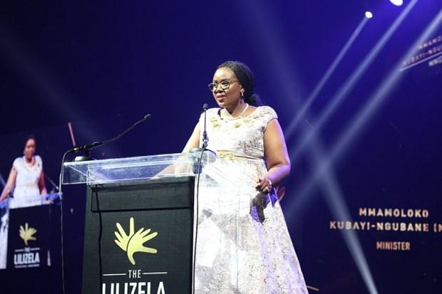 South African Tourism Minister, Mmamoloko Kubayi-Ngubane presiding at the 2019 Lilizela Tourism Awards national ceremony