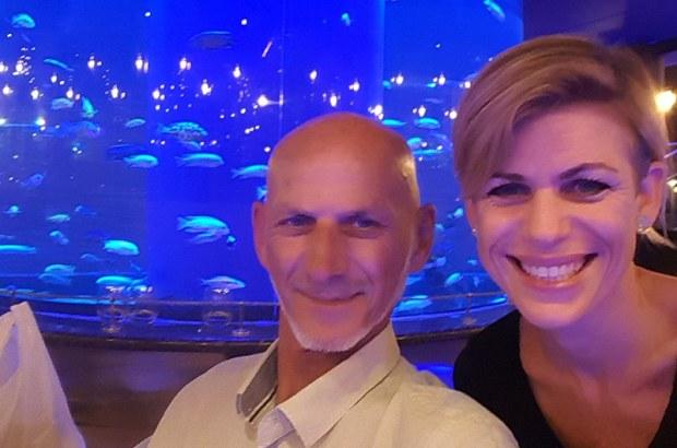 Des Langkilde and Kay Koekemoer