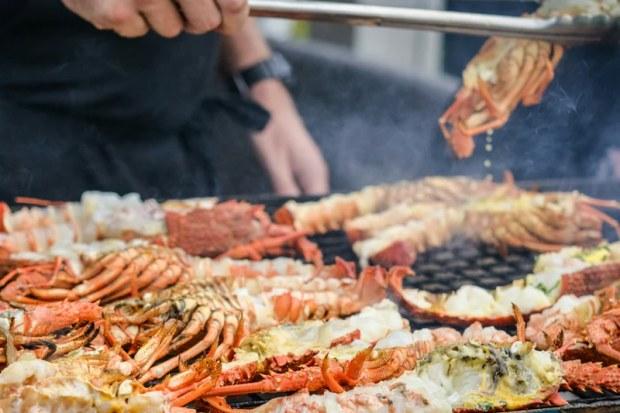 Crayfish Barbeque