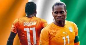 Soccer star Didier Drogba