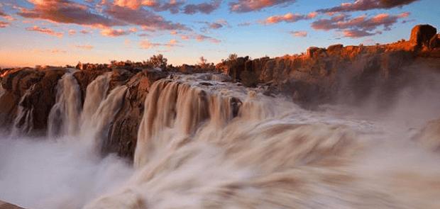 Augrabies Waterfall in Cedarberg, South Africa