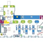 Flughafen Rom Fiumicino Abflugebene Terminal 1