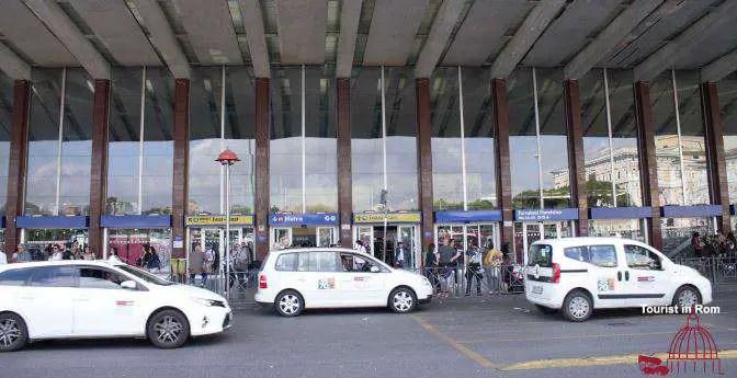 Taxi a Roma Taxis in Rom Stazione Termini