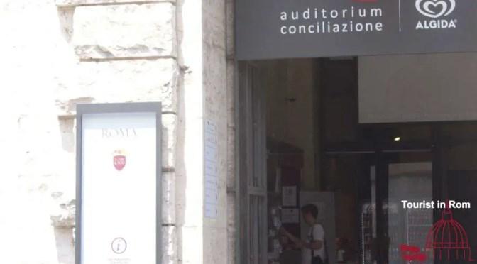 Büros der Touristeninformation Rom