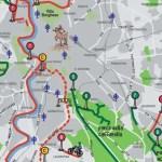 Fahrrad in Rom Radwegenetz