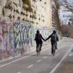 Rom Fahrrad Tiber Radweg