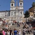 Rom Zentrum Spanische Treppe