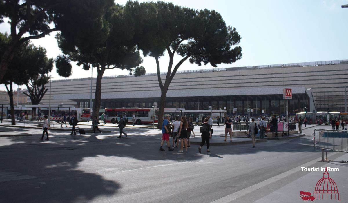 Streik in Rom Termini strike in Rome