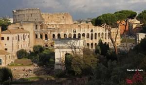 Kolosseum Forum Romanum Palatin