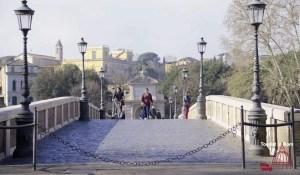 Rom Stadtwanderung Ponte Sisto