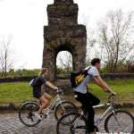 Bicycle on Via Appia Antica Rome