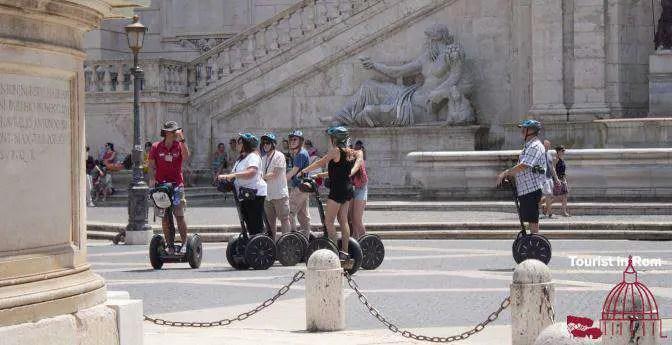 Rom Segway Touren · auf Achse in Rom