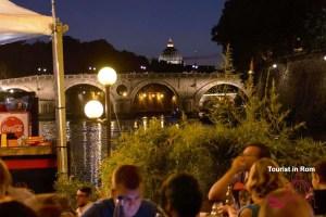 Sommer in Rom Sixtus Brücke