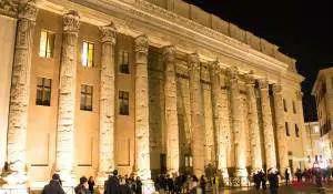 Rom Zentrum Piazza di Pietra
