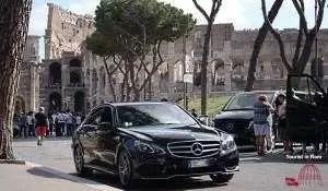 Rom Limousine Auto mit Fahrer