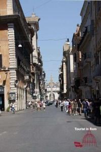Shopping in Rom Via del Corso