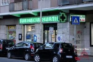 Arzt in Italien Apotheke