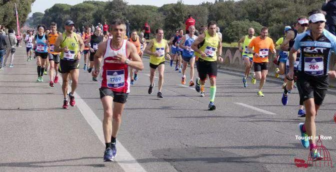 Maratona Roma Ostia 2017