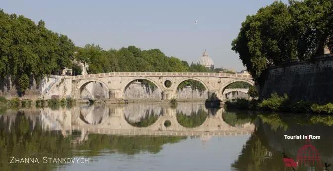 Mai Juni in Rom Sixtusbruecke