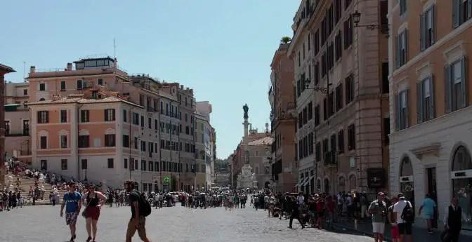 Drei Tage in Rom Piazza di Spagna